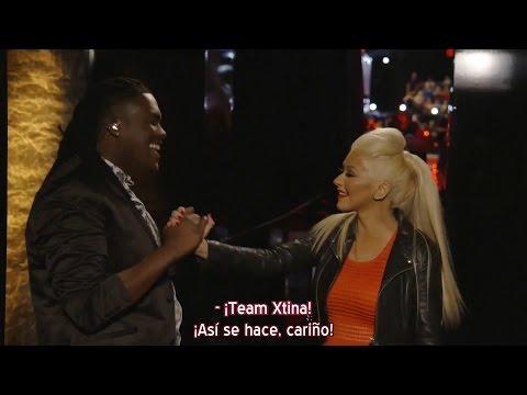 Christina Aguilera - Rob Taylor tras su eliminación The Voice 8 (Subtítulos español)