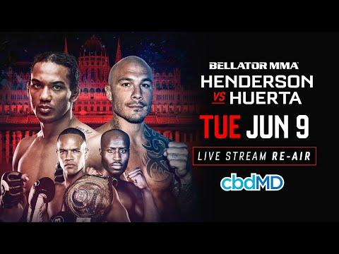 Бенсон Хендерсон - Роджер Уэрта / Henderson vs. Huerta
