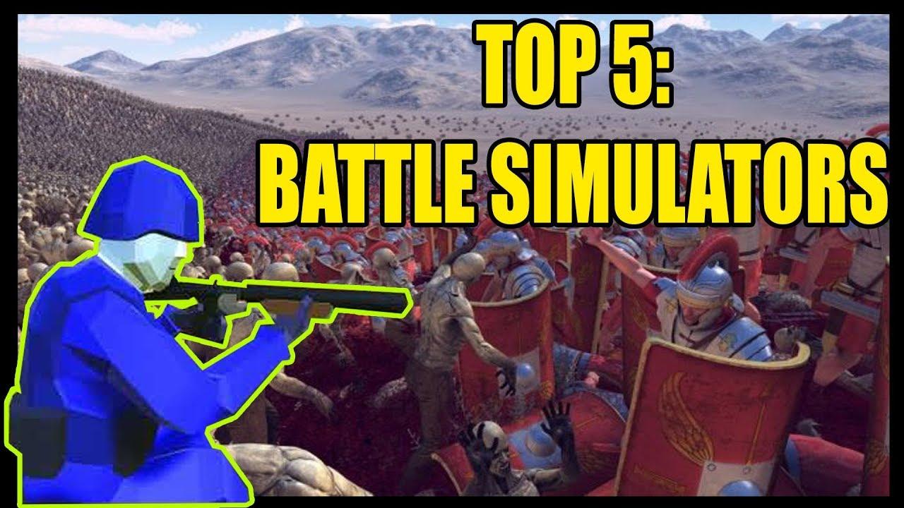 Top 5 BEST Battle Simulator Video Games