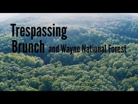 Trespassing, Brunch, and Wayne National Forest