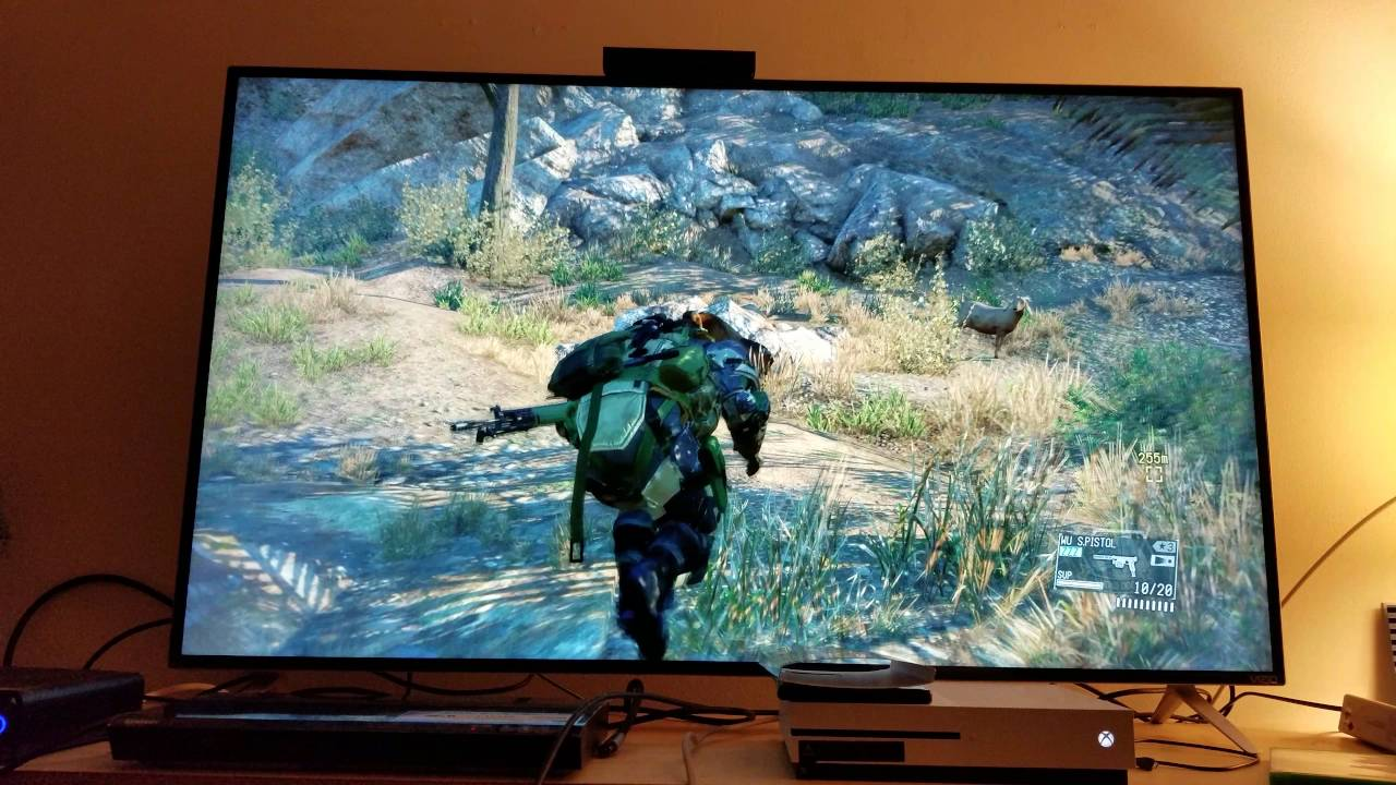 Metal Gear Solid 5 The Phantom Pain Upscaled To 4k On Xbox One S