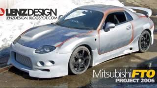 mitsubishi fto tuning cars