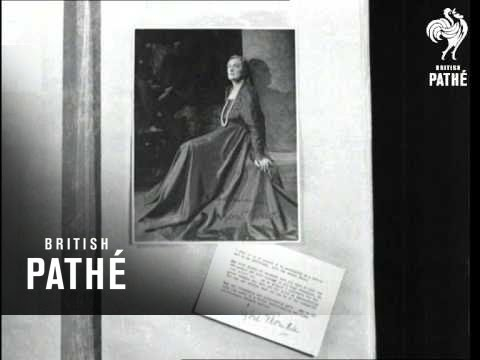 Art's Tribute To Soviets Issue Title Is Fine And Large (1943)