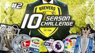 10 Season Challenge | Episode 2: Norwich & Derby | Football Manager 2017 Let's Play