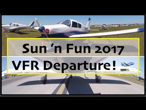 Sun 'n Fun 2017 VFR Departure, KLAL - 4-9-17