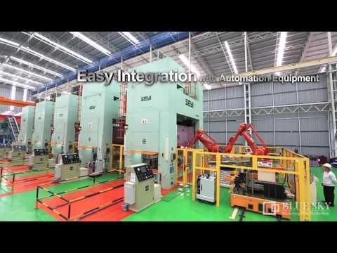 SEYI SLG Series - Link Motion, Heavy Duty, Deep Draw Presses