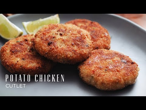 Potato Chicken Cutlets That Anyone Can Make