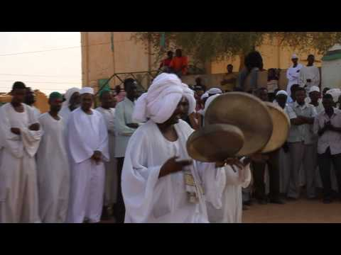 Northern Sudan -Traditional Islamic Dance in a Cemetery 1