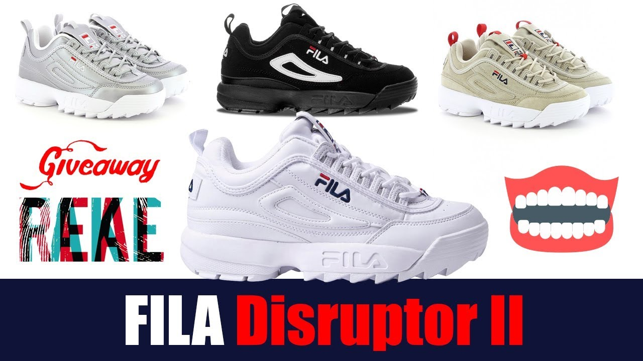 Fila Disruptor II 2 ОБЗОР (Unboxing, Review, On feet & Real VS Fake)