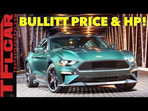 2019 Ford Mustang GT Bullitt Edition Price and Power Specs Are Here