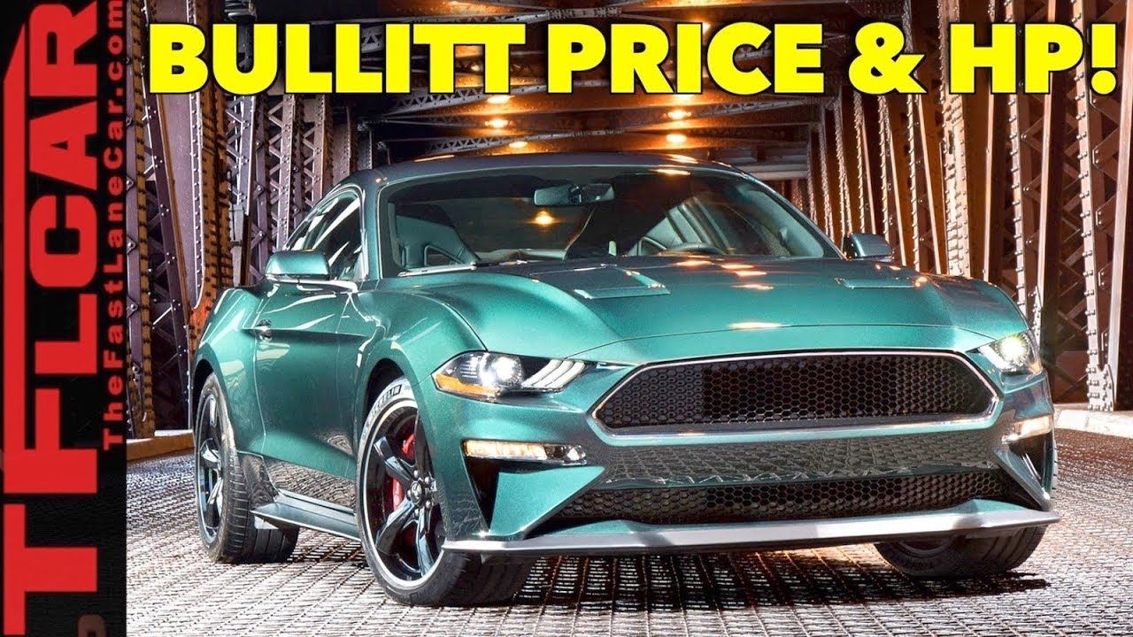 2019 Ford Mustang Sports Car The Bullitt Is Back >> 2019 Ford Mustang Gt Bullitt Edition Price And Power Specs Are Here