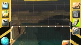 Bridge Constructor - Central Mainland - Bridge 4 - Walkthrough
