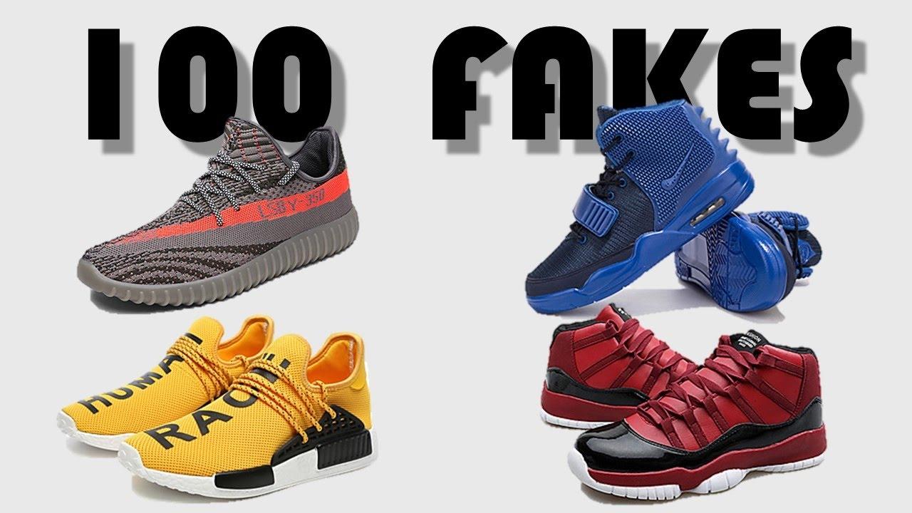 100 More Fake Sneakers