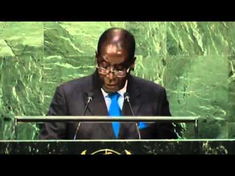 """""""Nous ne sommes pas gays"""" a dit Robert Mugabé à l'ONU"""
