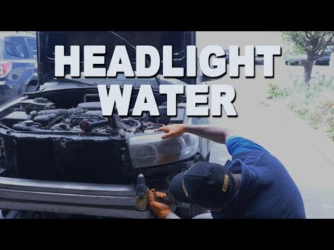 How to Fix a Headlight with Water or Moisture in it (at NO COST)