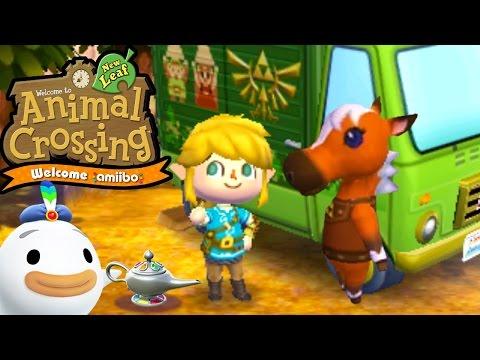 Animal Crossing: New Leaf - Welcome amiibo Update! - Epona RV Zelda Items - 3DS Gameplay Walkthrough