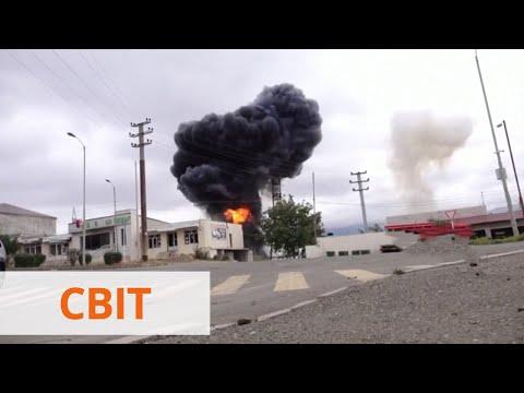 Новые пострадавшие среди гражданских и разрушения   Вооруженный конфликт в Нагорном Карабахе
