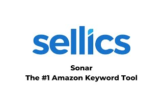 SONAR: #1 AMAZON KEYWORD TOOL | 100+ Million Keywords
