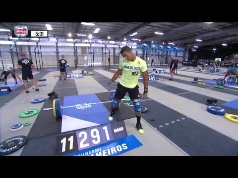 The Crossfit Games Teenagers 1rm Snatch Youtube