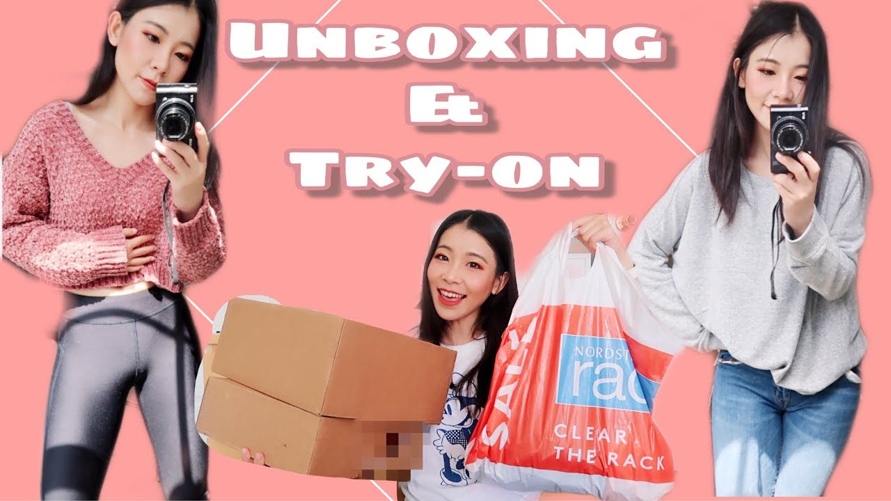 Nordstrom Rack Clothing Haul_ Unboxing & Try on Haul | Back to School Outfit Ideas| Fall Outfit