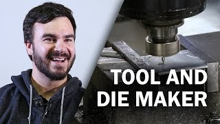 Job Talks - Tool and Die Maker - Randy  Discusses Misconceptions of the Job