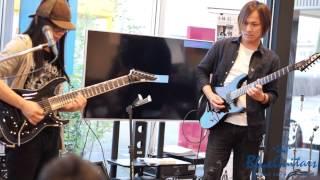 150426 藤岡幹大 in store LIVE @ Blue Guitars ,Toyama thumbnail