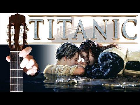 Титаник на Гитаре + РАЗБОР