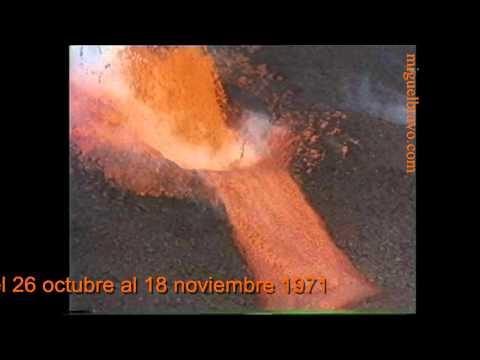 VOLCAN TENEGUIA LA PALMA OCTUBRE 1971