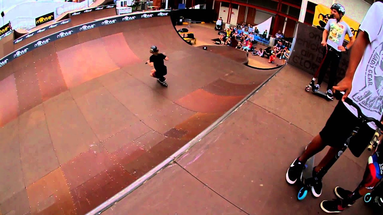 Monster Skatepark Demos