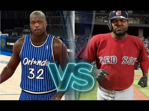 What Will Happen First? Shaquille ONeal Full Court Shot OR David Ortiz Bunt Single?