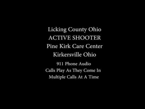 911 Audio Active Shooter Kirkersville Ohio
