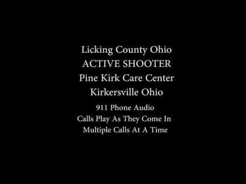 911 Audio Active Shooter Kirkersville Ohio
