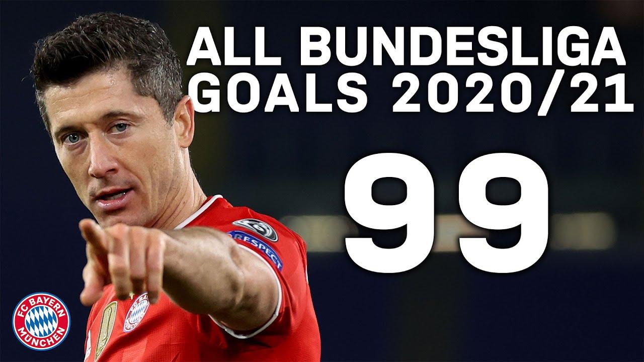 Sané, Müller, Davies... and lots of Lewandowski   All 99 FC Bayern Bundesliga Goals 2020/21
