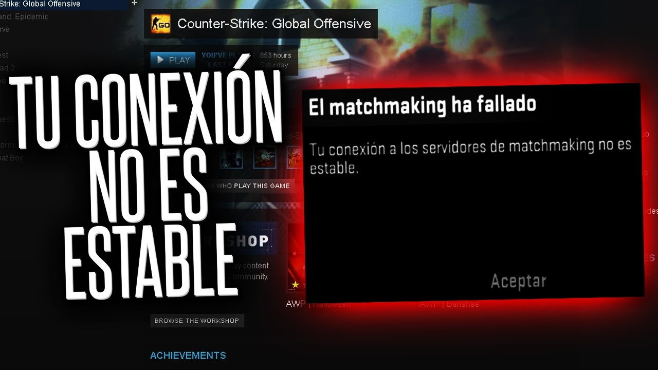 Ha Es No El Matchmaking La Estable Fallado Conexion