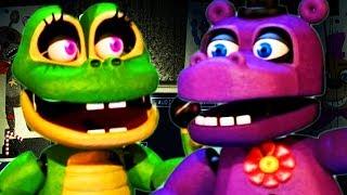 NEW SALVAGED ANIMATRONICS UNLOCKED!    Five Nights at Freddys 6 (NIGHT 3)