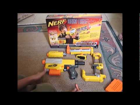 Review Nerf Recon Cs 6 Amp Test Fire Portugues Youtube