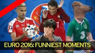 EURO 2016 : Top Funniest moments | Just4Fun Tv