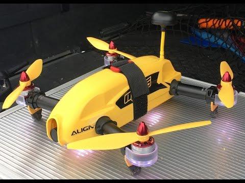 Testflug mit Align