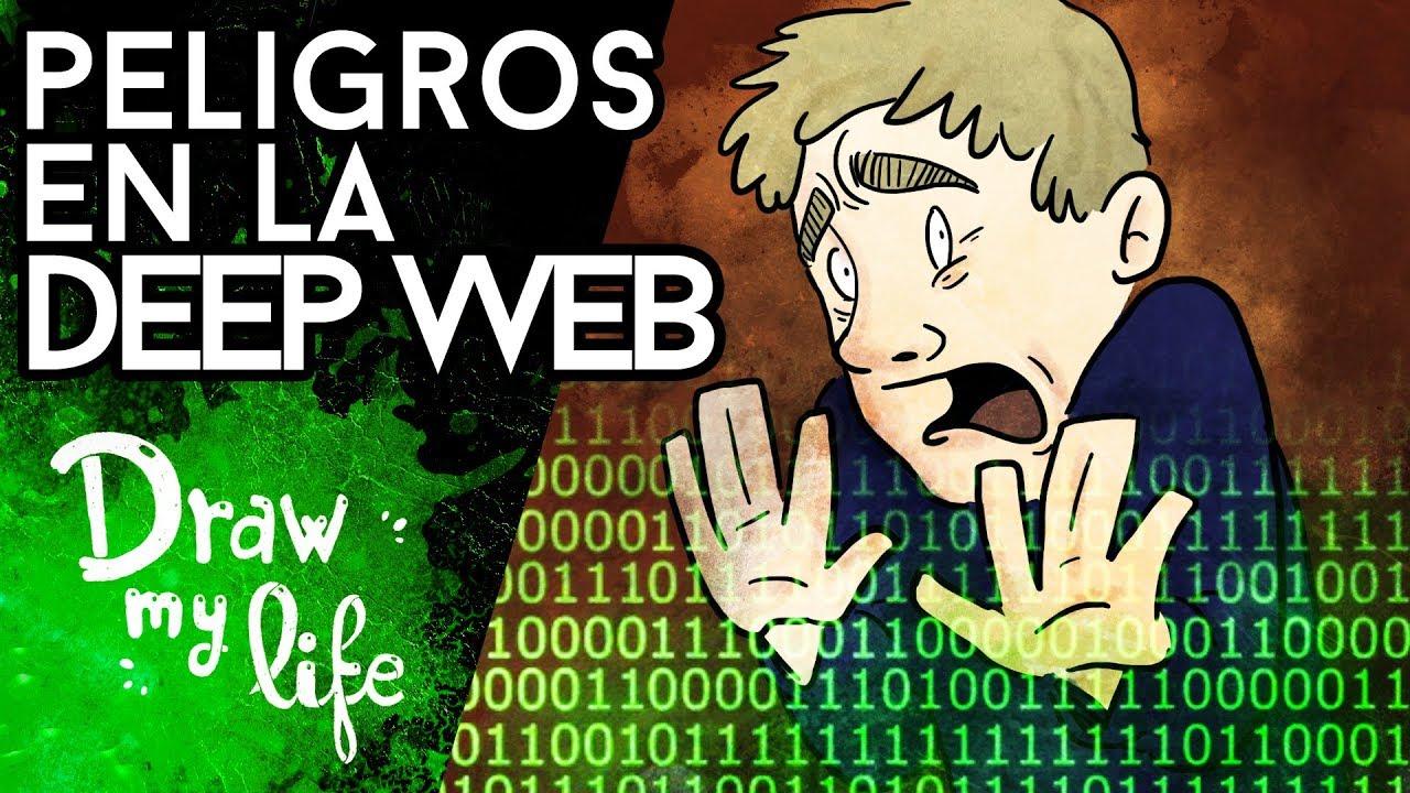 Esto es lo que pasa SI ENTRAS EN LA DEEP WEB - Draw My Life
