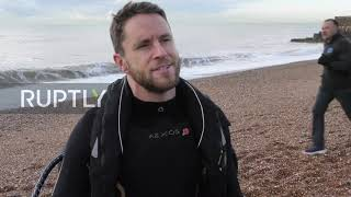 UK: Inventor Richard Browning breaks own jet suit world speed record