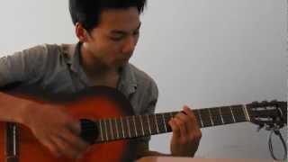 Bến Thượng Hải guitar solo