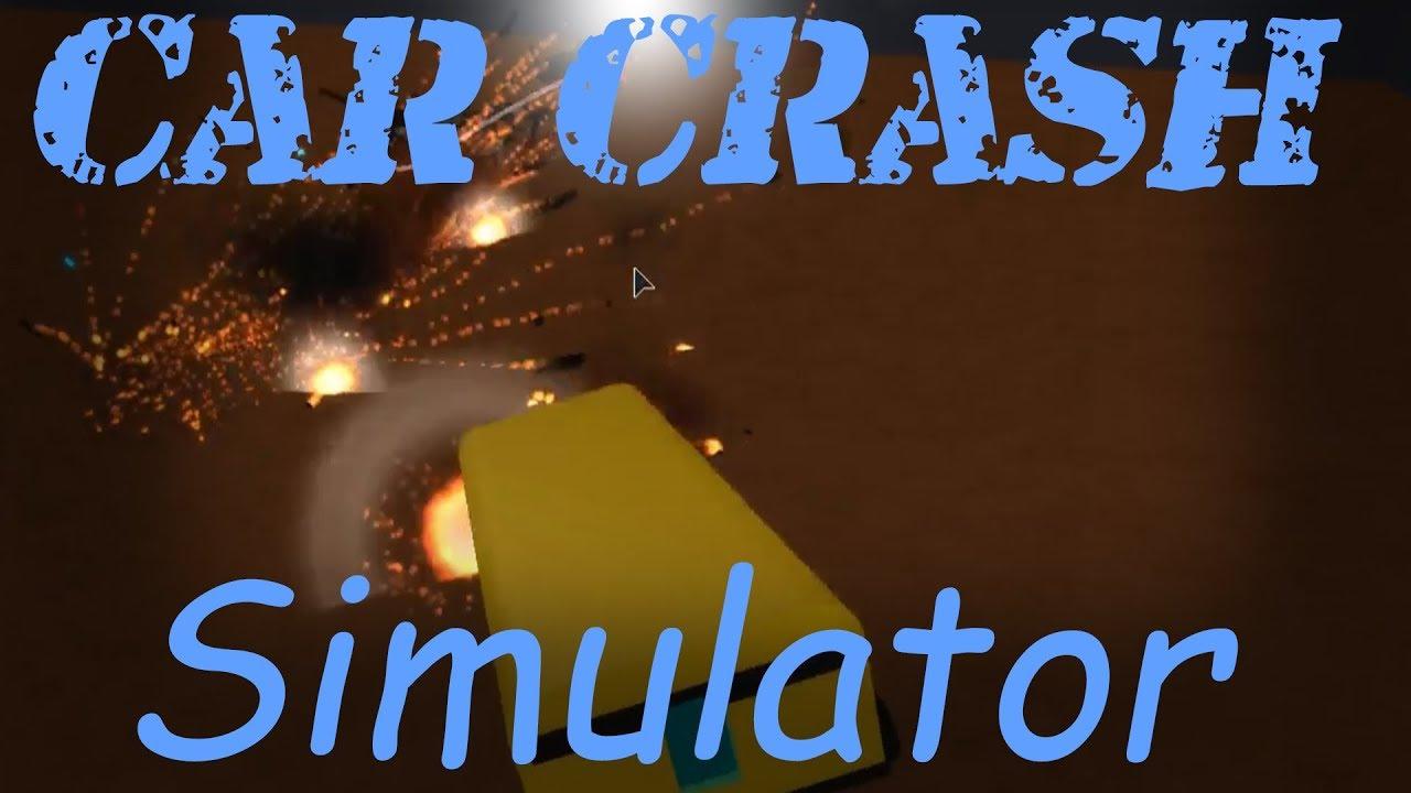 Crashing Cars! Roblox Car Crash simulator! - YouTube