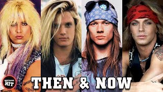 80s ROCK GODS ⭐ THEN AND NOW (1980s - 2021)