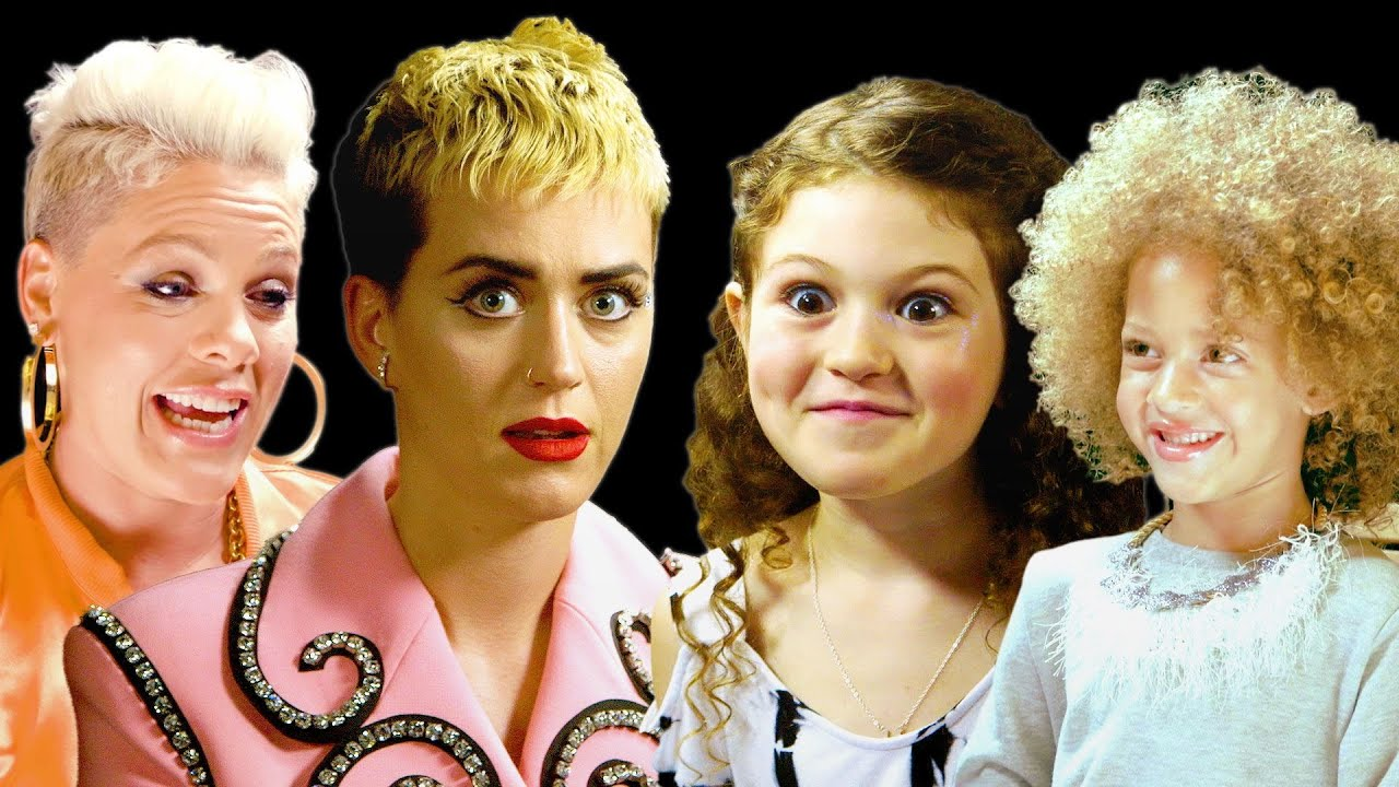 Best of Little W: Katy Perry, P!nk and More Do Interviews with Kids ...