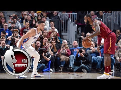 Ben Simmons was pleased with the 76ers overall play vs the Cavaliers & defending LeBron James | ESPN
