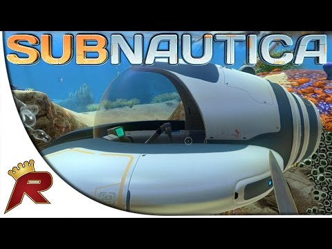 """Subnautica Gameplay - Part 5: """"Seamoth Jump Scare!"""" (Early Access)"""