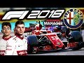 VERSTAPPEN'S FIRST RACE! MULTIPLE DRIVER TRANSFERS! - F1 2018 Alfa Romeo Manager Career Part 64
