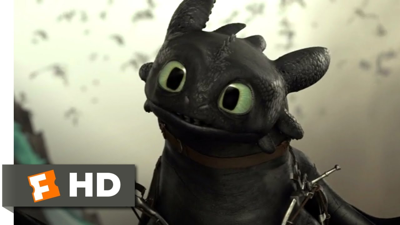 Download How to Train Your Dragon 2 - Mean Toothless Scene | Fandango Family