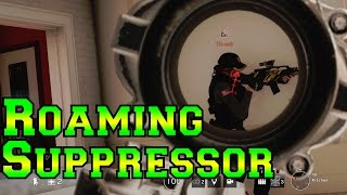sneaky roaming with suppressor jager rainbow six siege