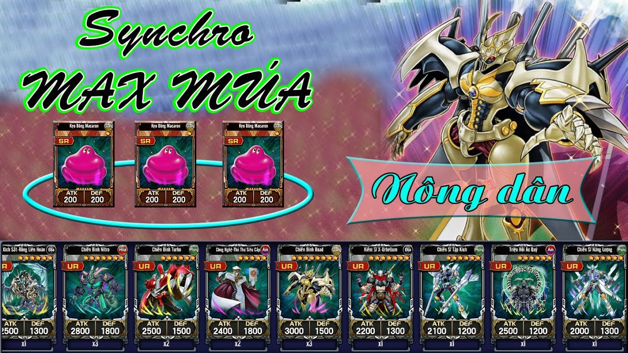 Yugi H5 - Deck Synchro MÚA LEVER MAX cho anh em sắp đủ 3 kẹo - Thầnbài.vn YugiH5